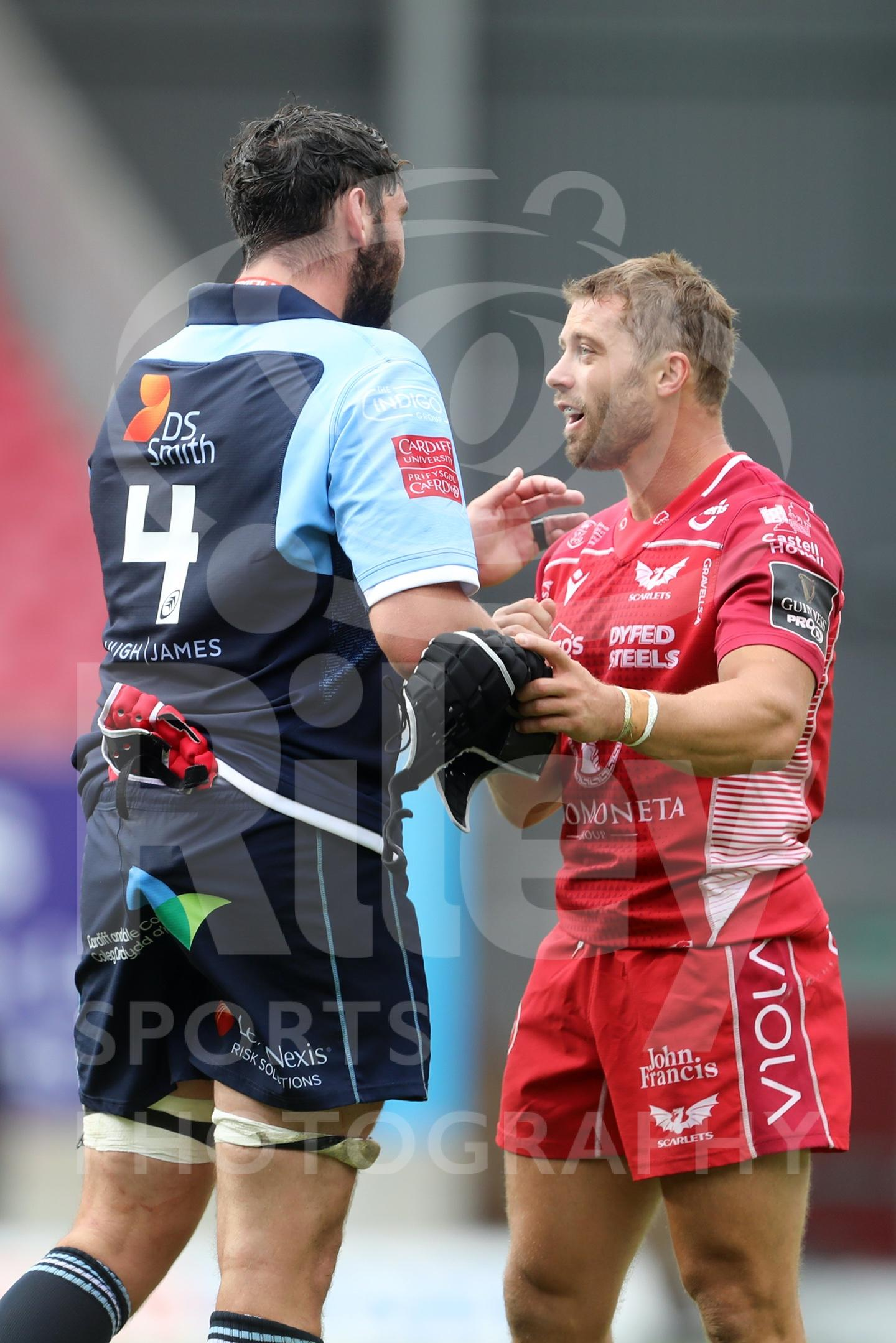 Scarlets v Blues 22nd August 2020
