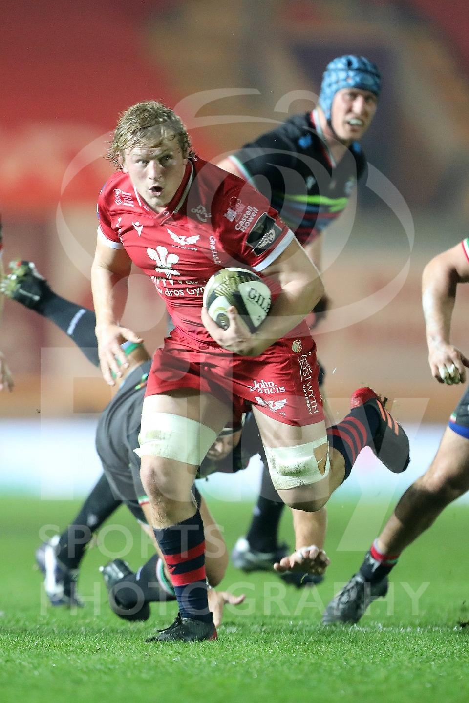 Scarlets v Zebre 8th November 2020