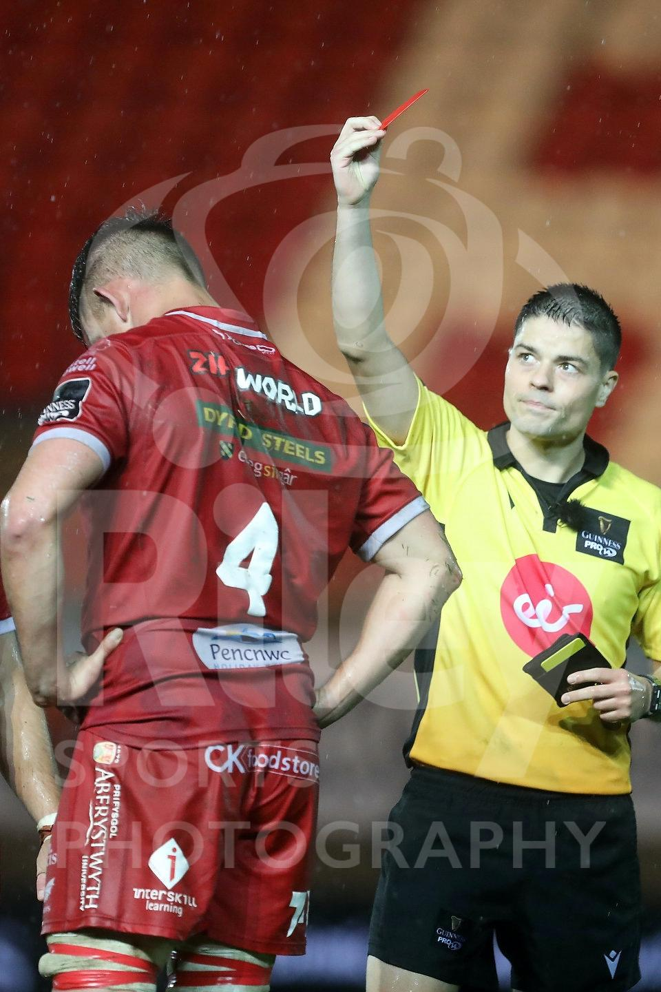 Scarlets v Edinburgh 1st November 2020